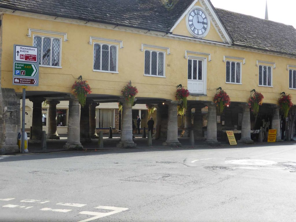 Tetbury Market House - cotswold tours from Birmingham