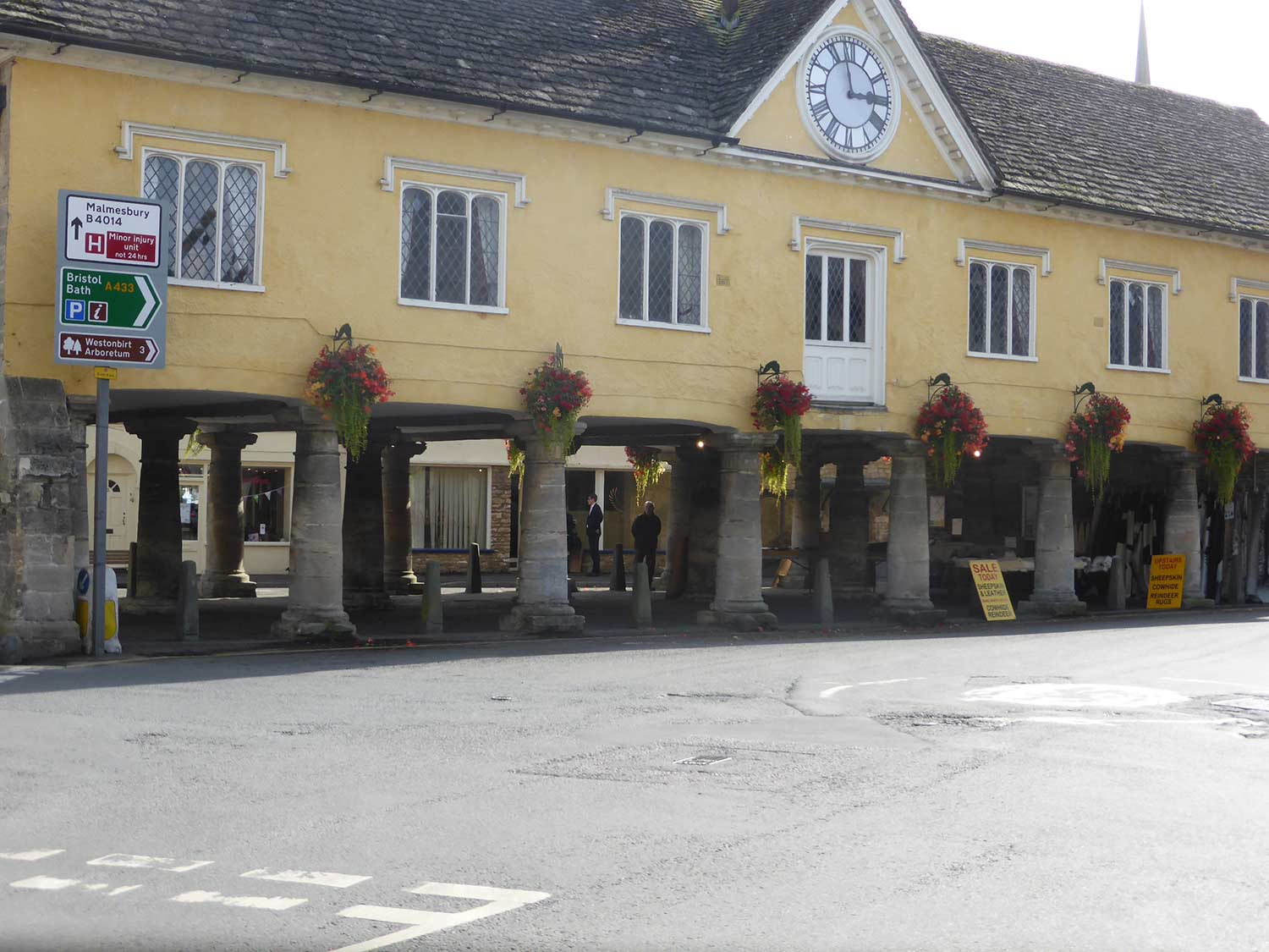 Tetbury Market House - cotswold tours from Bristol