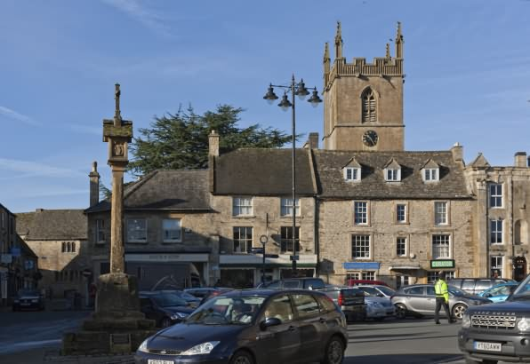 Stow on the Wold market place